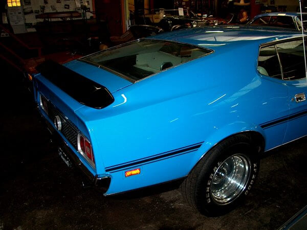 Ford Mustang Mach One 1972